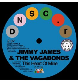 Deptford Northern Soul Club Records Jimmy James & The Vagabonds / Sonya Spence - This Heart Of Mine / Let Love Flow On