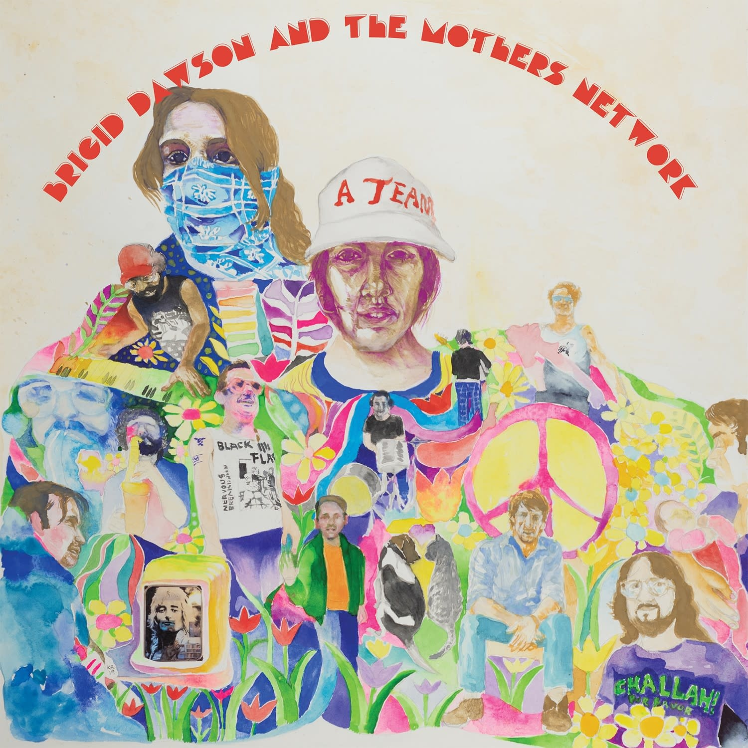 Castle Face Records Brigid Dawson & The Mothers Network - Ballet Of Apes