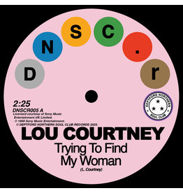 Deptford Northern Soul Club Records Lou Courtney & Lee Dorsey - Trying To Find My Woman / Give It Up
