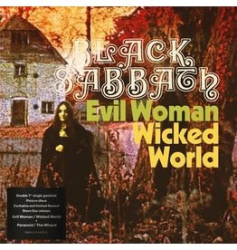 BMG Black Sabbath - Evil Woman / Wicked World & Paranoid / The Wizard