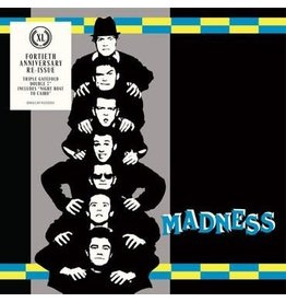 Union Square Music / BMG Madness - Work, Rest & Play EP - 40th anniversary edition