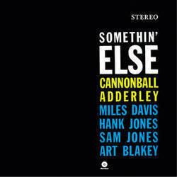 Groove Replica Cannonball Adderley - Somethin' Else