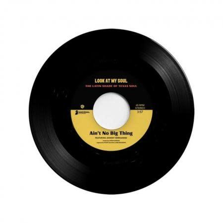 Nacional Records Johnny Hernandez/Black Pumas featuring Kam Franklin - Ain't No Big Thing b/w Look At My Soul