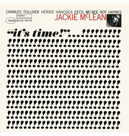 Blue Note Jackie McLean - It's Time (Tone Poet Edition)