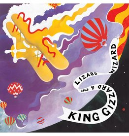 Castle Face Records King Gizzard & The Lizard Wizard - Quarters (Coloured Vinyl)