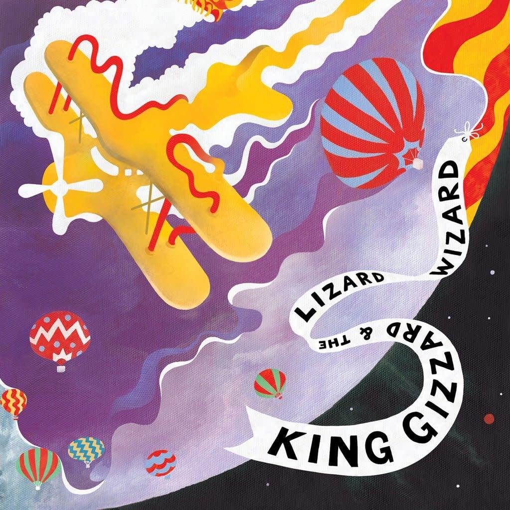 Castle Face Records King Gizzard & The Lizard Wizard - Quarters (Coloured Vinyl)