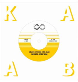 Kalakuta Soul Recordings The Golden Sunshine Steel Band - Drums & Steel Song