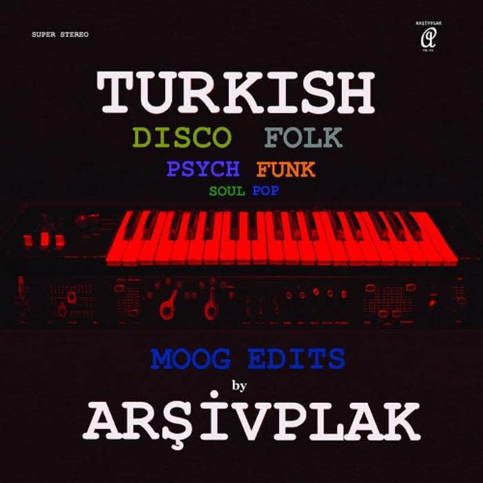 Arsivplak Arsivplak - Moog Edits (Turkish Disco Folk)