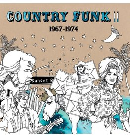 Light In The Attic Various - Country Funk II