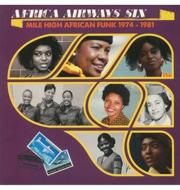 Africa Seven Various - Africa Airways Six (Mile High Funk 1974-1981)