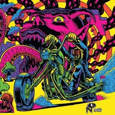 Numero Group Various - Warfaring Strangers: Acid Nightmares (Coloured Vinyl)