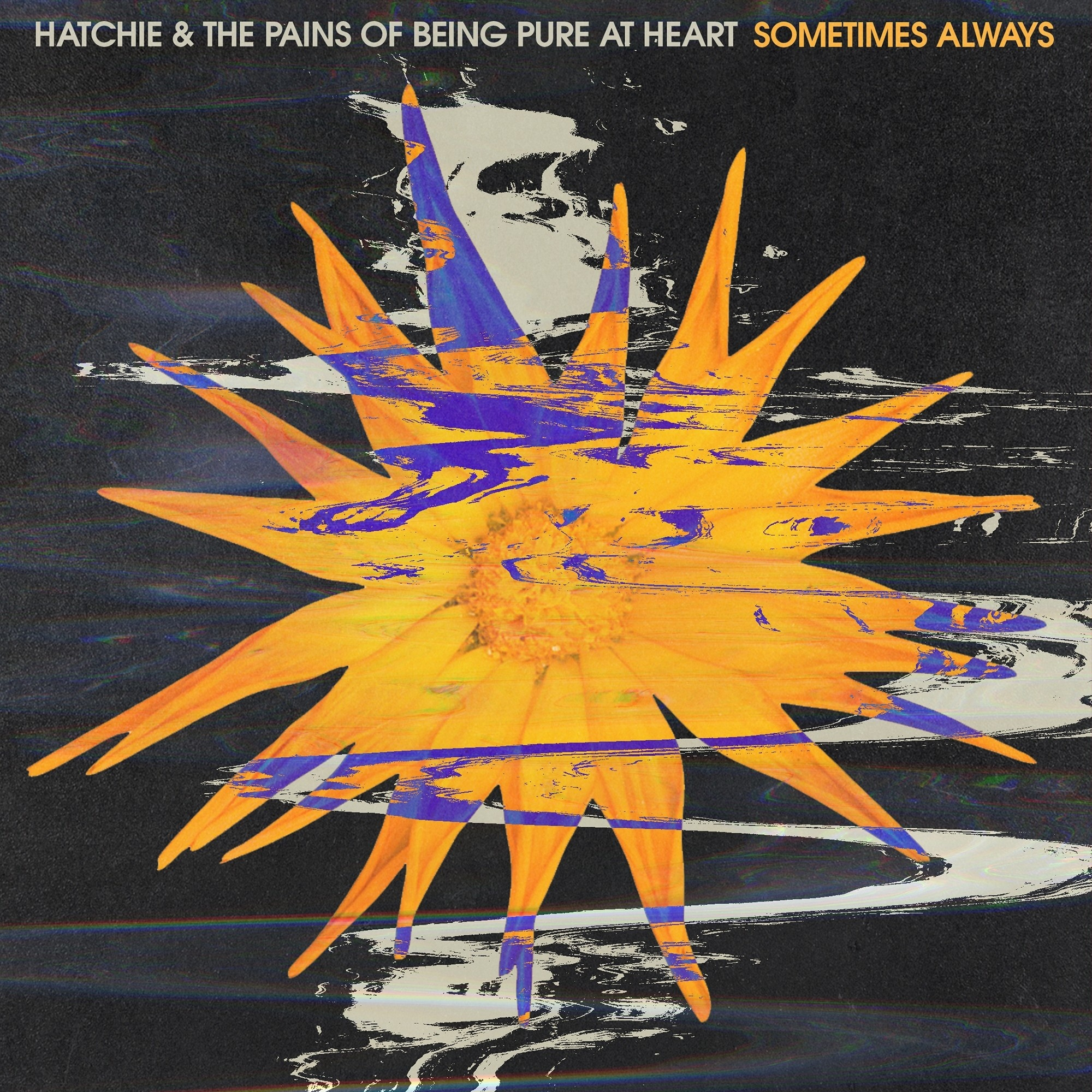Heavenly Recordings Hatchie / Pains Of Being Pure At Heart - Sometimes Always (Coloured Vinyl)