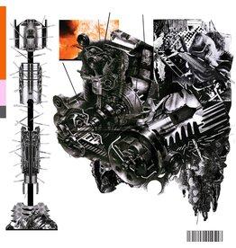 Rough Trade black midi - Sweater / 7-eleven