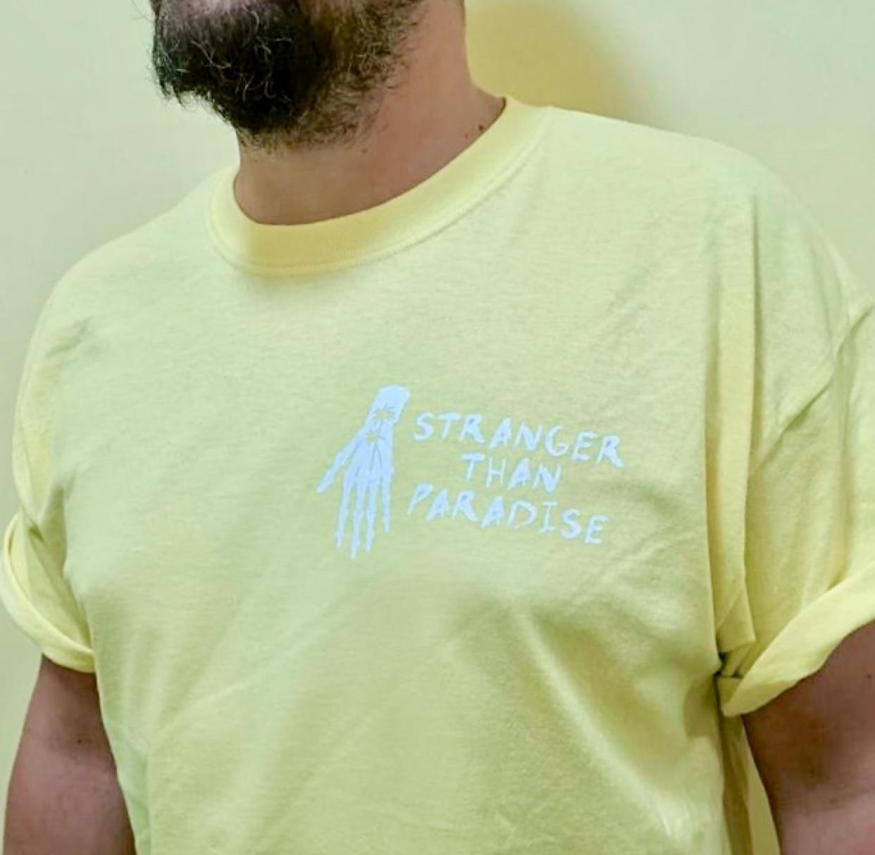 Stranger Than Paradise Records Stranger Than Paradise - Limited Tucson Soft Yellow T-Shirt
