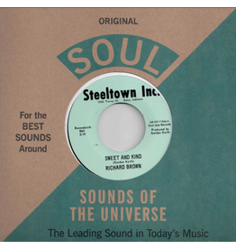 Soul Jazz Records Richard Brown - Sweet and Kind