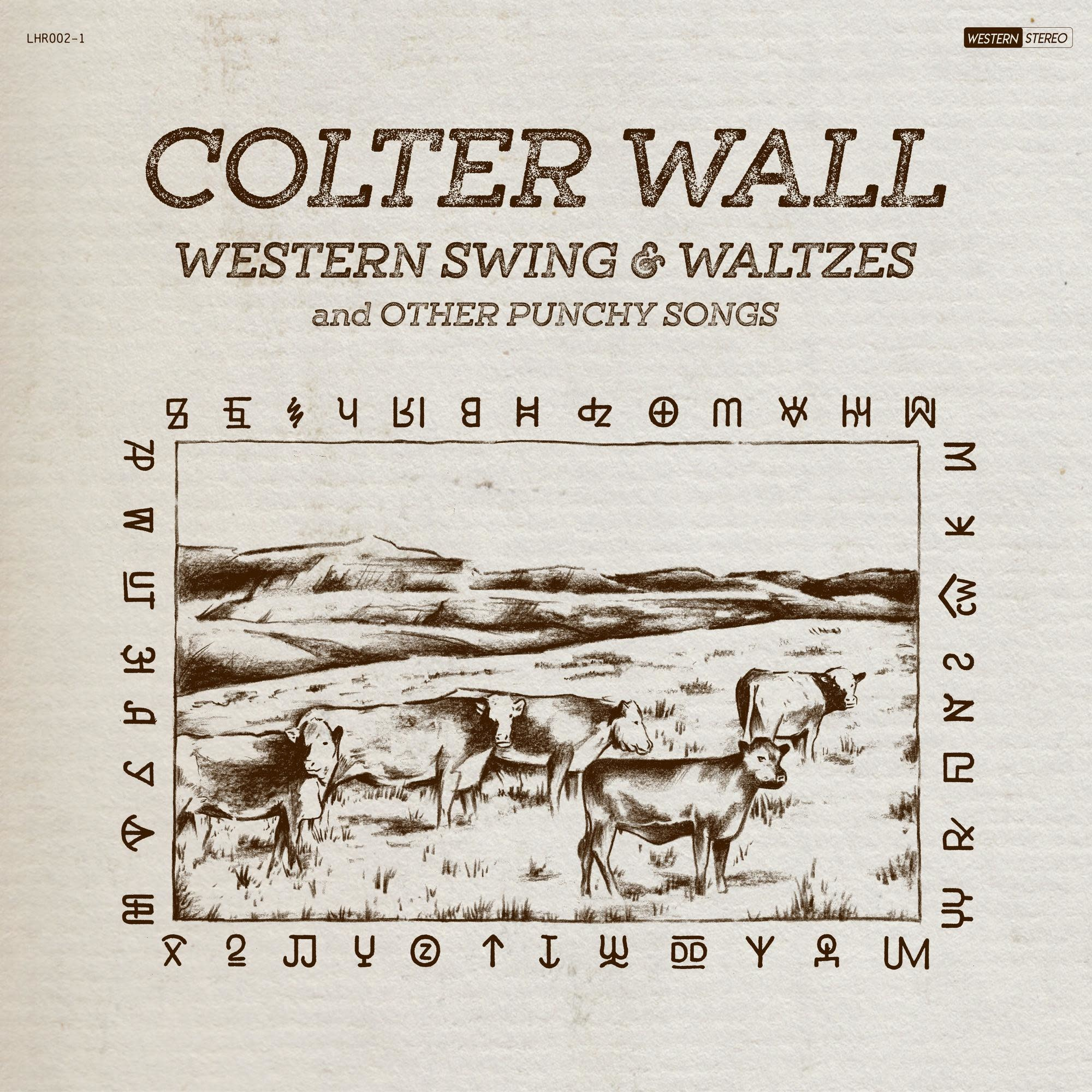 La Honda Records Colter Wall - Western Swing and Waltzes and Other Punchy Songs (Coloured Vinyl)