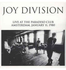 Lively Youth Joy Division - Live At Paradiso Club January 11 1980