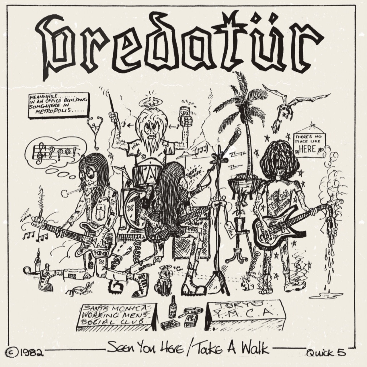 On The Dole Records Predatur - Seen You Here