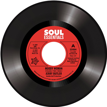 Outta Sight Jerry Butler - Moody Woman / Stop Steppin' On My Dreams
