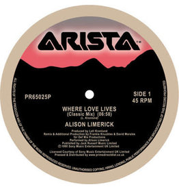 Arista Alison Limerick - Where Love Lives