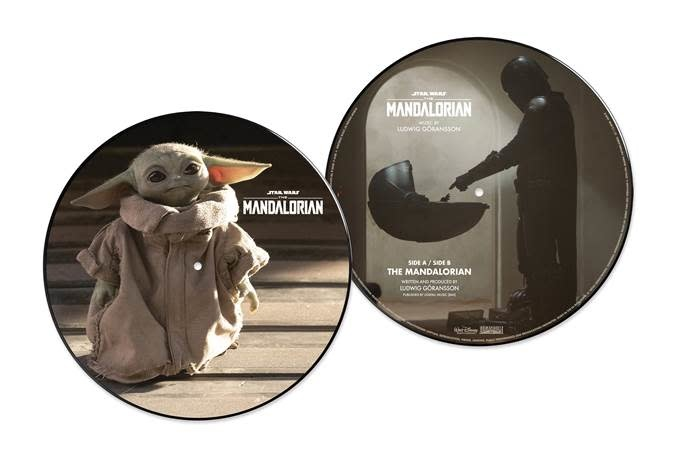Walt Disney Records Ludwig Göransson - The Mandalorian OST (Picture Disc)