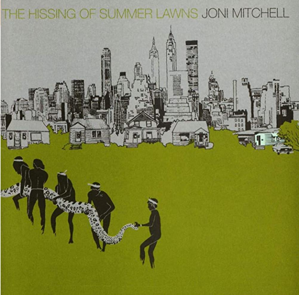 Rhino Elektra Joni Mitchell - The Hissing Of Summer Lawns