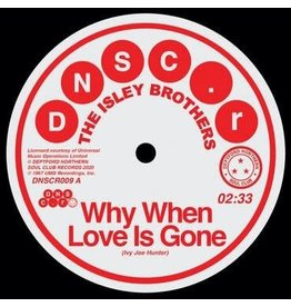 Deptford Northern Soul Club Records The Isley Brothers & Brenda Holloway - Why When Love Is Gone / Can't Hold The Feeling Back