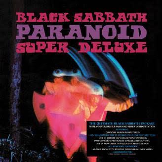 BMG Black Sabbath - Paranoid (50th Anniversary Edition)
