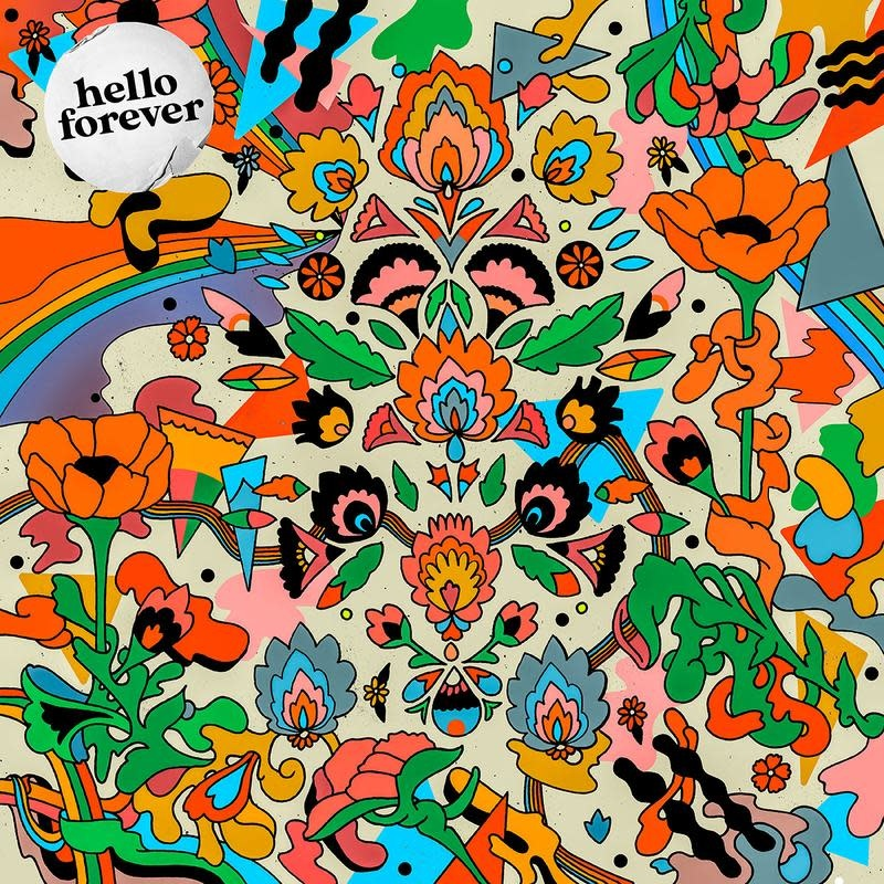 Rough Trade Records Hello Forever- Whatever It Is (Coloured Vinyl)