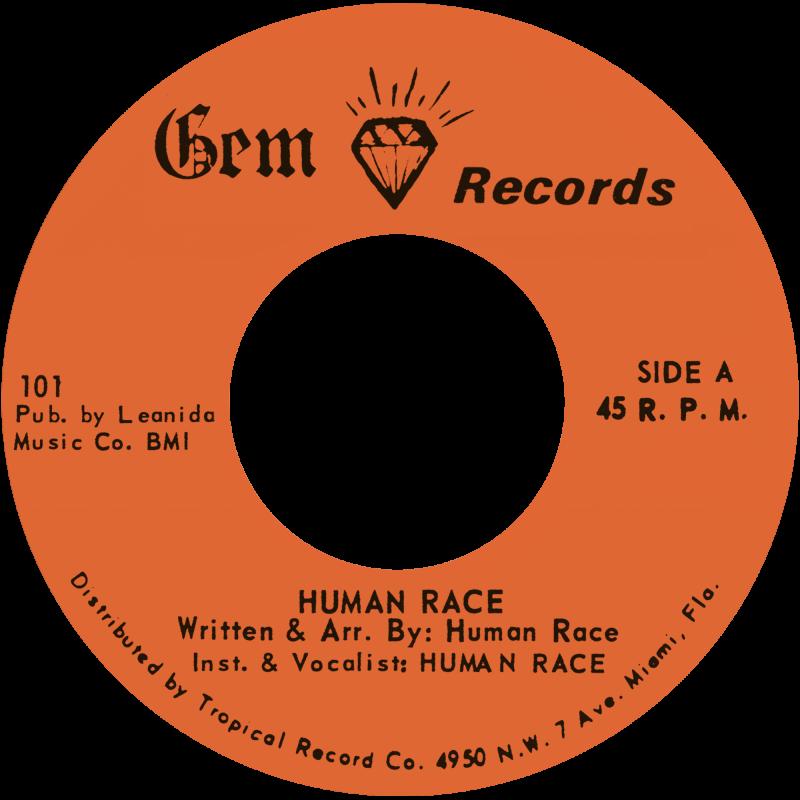 Gem Records Human Race - Human Race / Grey Boy