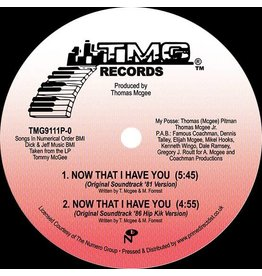TMG Records Tommy McGee - Now That I Have You (Versions)