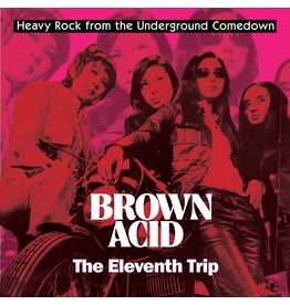 Riding Easy Records Various - Brown Acid: The Eleventh Trip (Coloured Vinyl)