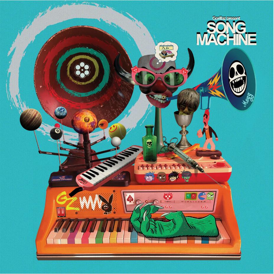 Parlophone Gorillaz - Song Machine: Season One - Strange Timez (Coloured Vinyl)