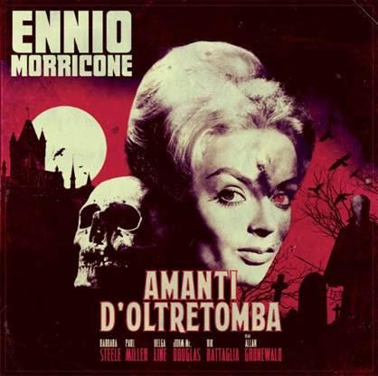 Overdrive Records Ennio Morricone - Amanti D'oltretomba (Coloured Vinyl)