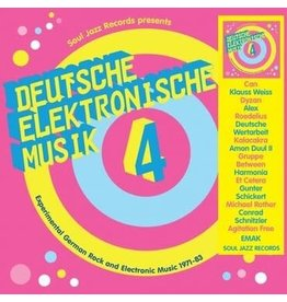 Soul Jazz Records Various - Deutsche Elektronische Musik 4: Experimental German Rock And Electronic Music 1972-83