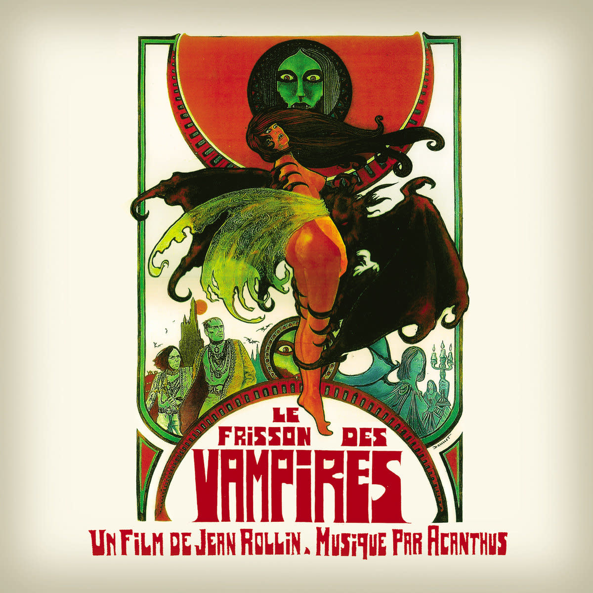 Finders Keepers Records Acanthus - Le Frisson Des Vampires (Coloured Vinyl)