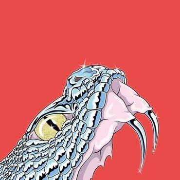 Rocket Recordings Pharaoh Overlord - 6 (Pink and Black Vinyl)