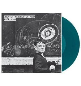 Vinyl Revival Various - Greater Manchester Punk: Vol 1 - 77-81 (Coloured Vinyl)