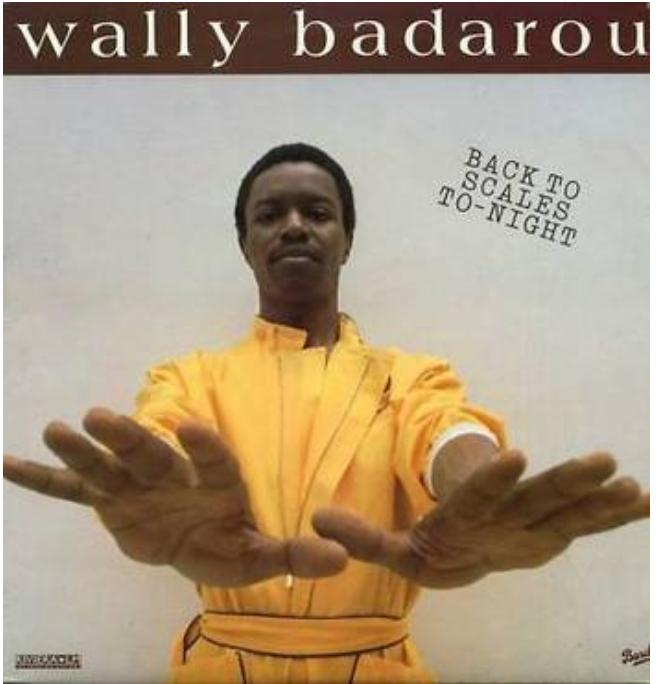 Love Vinyl Wally Badarou - Back to Scales To-Night