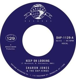 Daptone Recordings Sharon Jones and The Dap Kings - Keep On Looking / Natural Born Lover - Instrumental (With Strings)