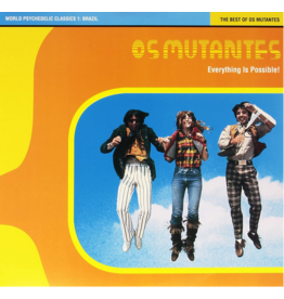 Luaka Bop Os Mutantes - World Psychedelic Classics 1: Brazil (Everything Is Possible!)