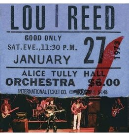 Legacy Lou Reed - Live At Alice Tully Hall - Jan 27th, 1973 - 2nd Show