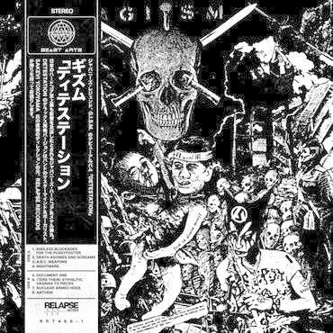 Relapse Records G.I.S.M. - DETESTation