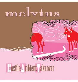 Ipecac Melvins - Hostile Ambient Takeover (Coloured Vinyl)