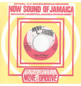 Dub Store Dennis Brown - Lips Of Wine / The Crystalites - Stranger In Town