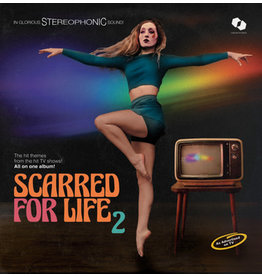 Castles In Space Various - Scarred For Life 2 (Coloured Vinyl)