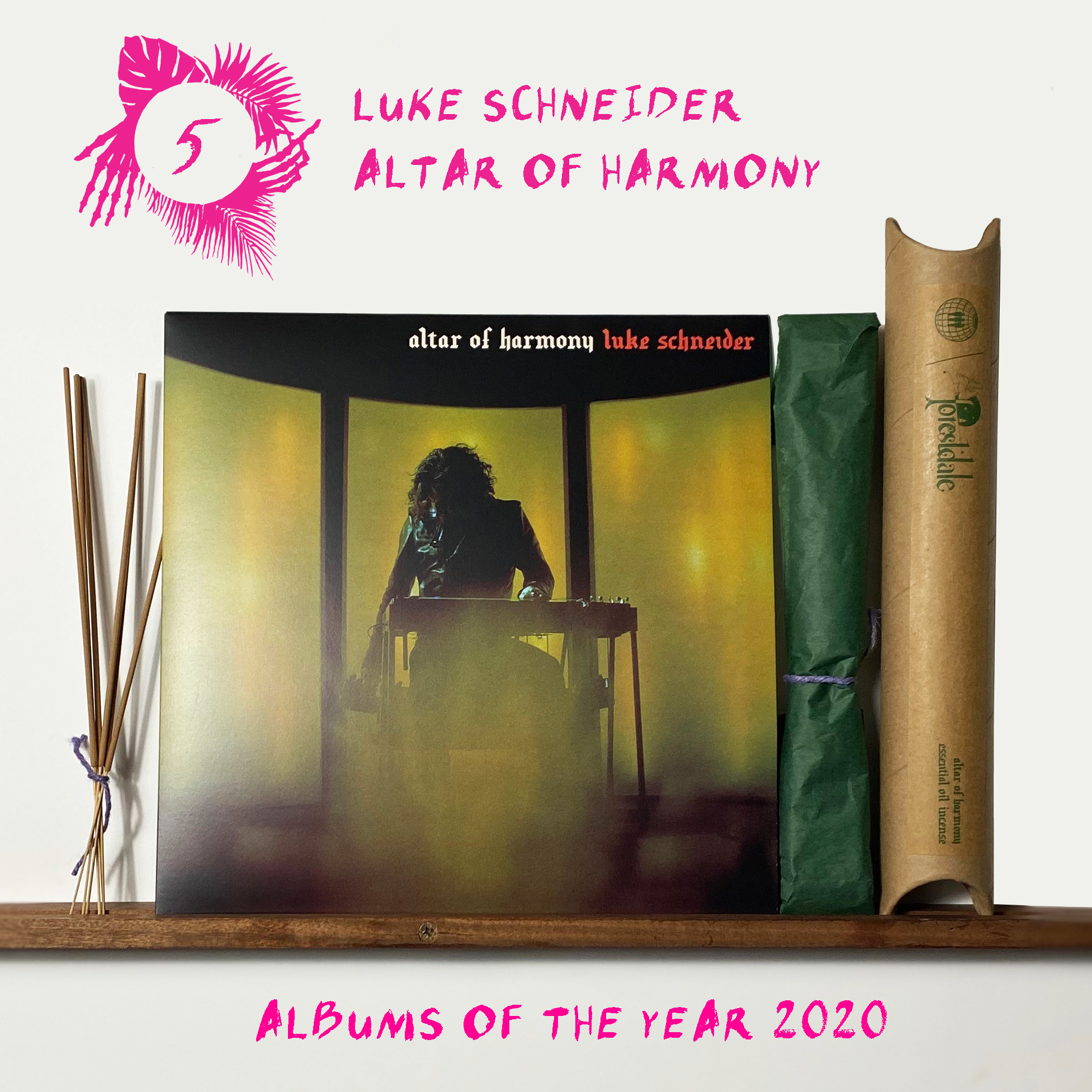 Third Man Records Luke Schneider - Altar of Harmony (with Limited Incense)