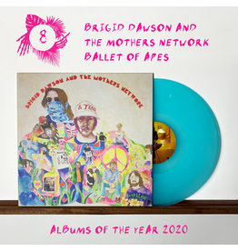 Castle Face Records Brigid Dawson & The Mothers Network - Ballet Of Apes (Cotton Candy Coloured Vinyl)