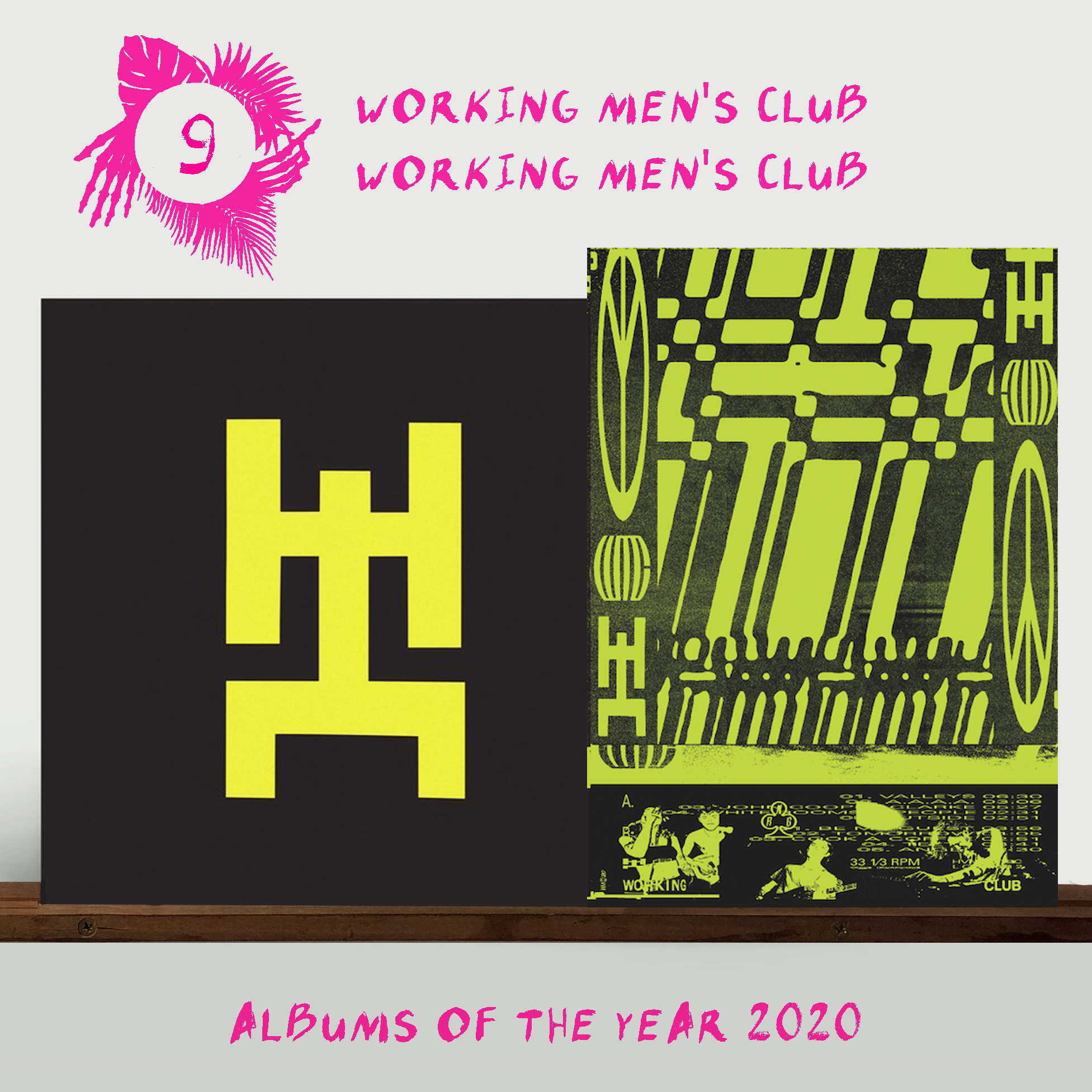 Heavenly Recordings Working Men's Club - Working Men's Club (Exclusive Poster Edition)