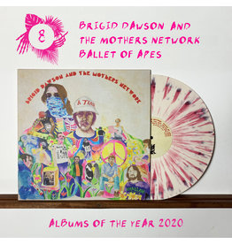 Castle Face Records Brigid Dawson & The Mothers Network - Ballet Of Apes (Wild Strawberry Splatter Vinyl)